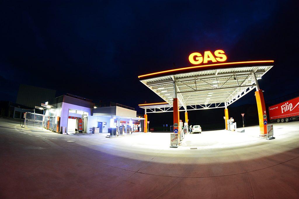 Čerpacia stanica GAS